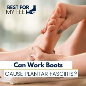 foot massage due to pain cause by plantar fasciitis